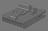 1.27mm Polarized & Locking Housing MH545 Series