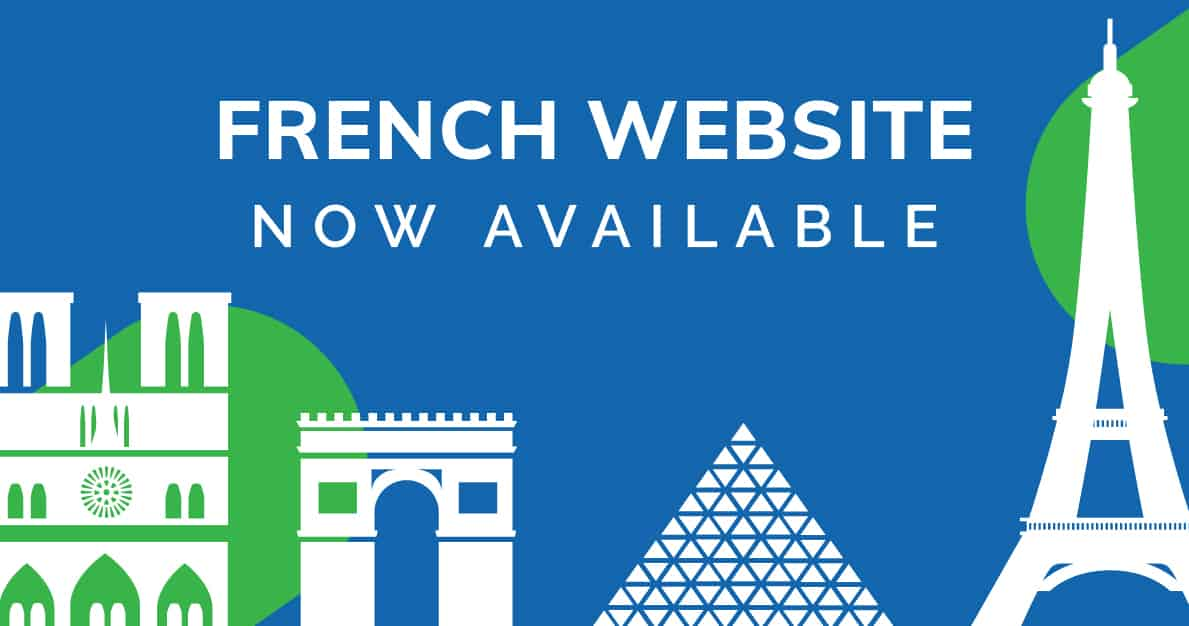 Memcon website is now available in French language